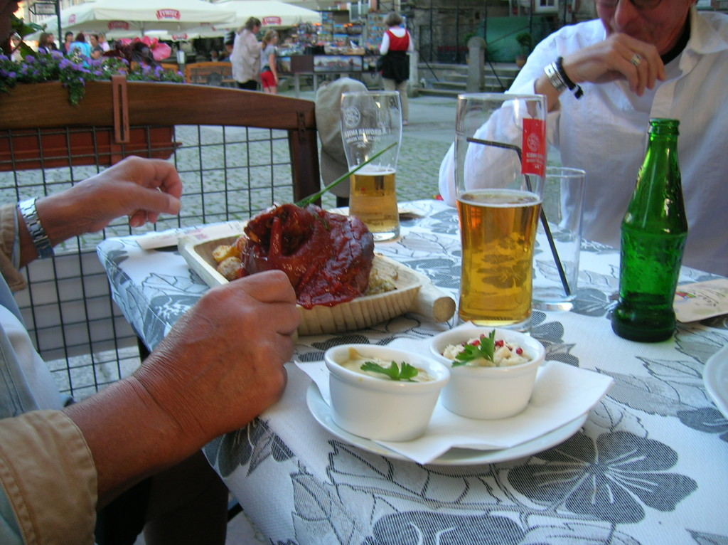 Pig's knuckle, traditional Polish dish