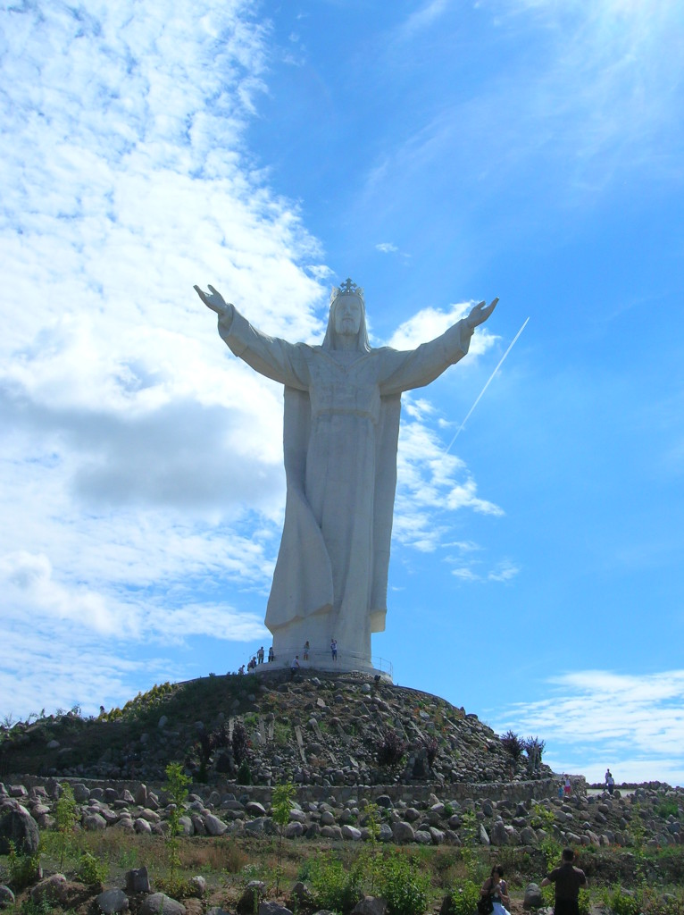 Statue of Christ in Swiebodzin, Poland