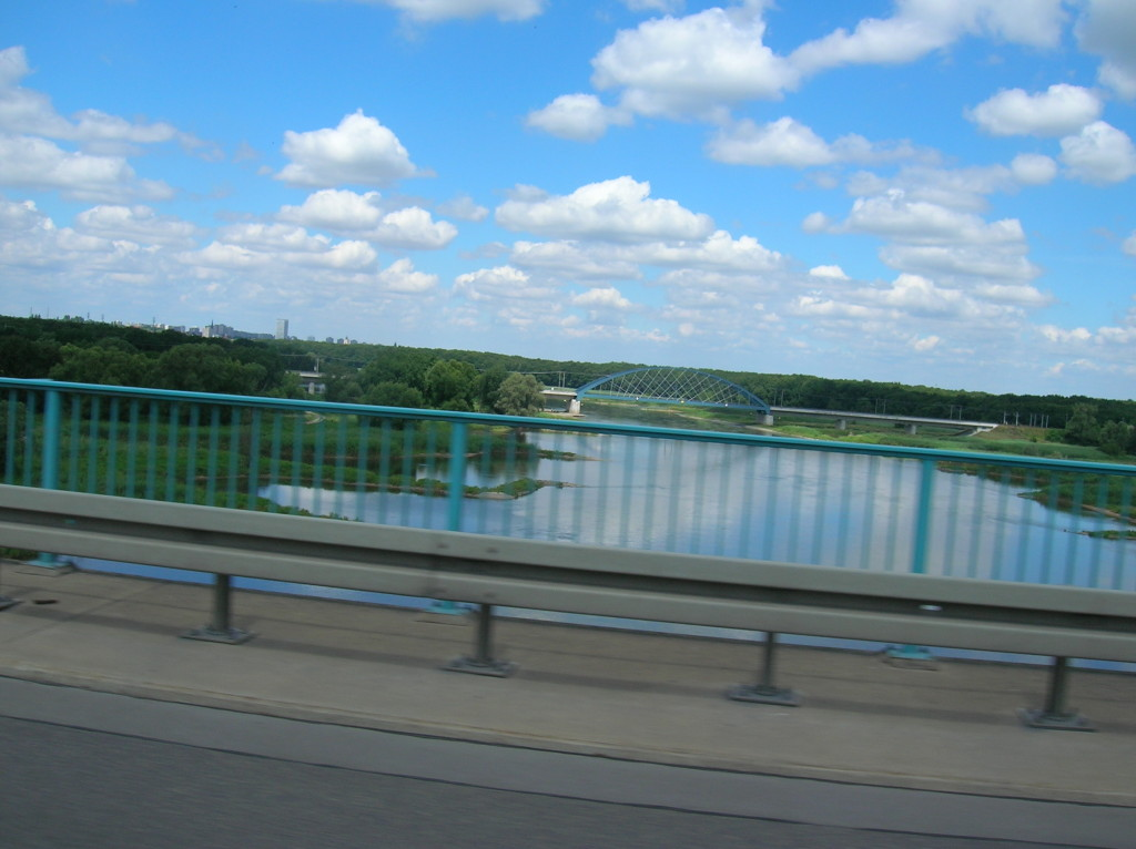 Crossing the Oder River into Germany