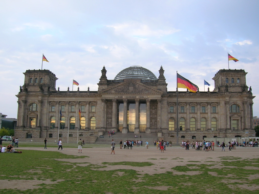 The Bundestag, Germany's version of Congress