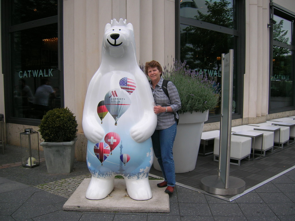 One of many Berlin bears