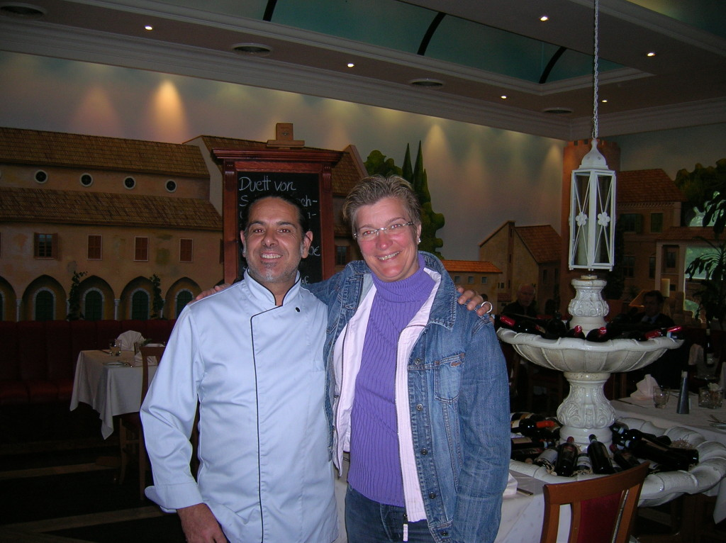 Mille Mignia Restaurant with Barbara von Graeve and her Italian chef