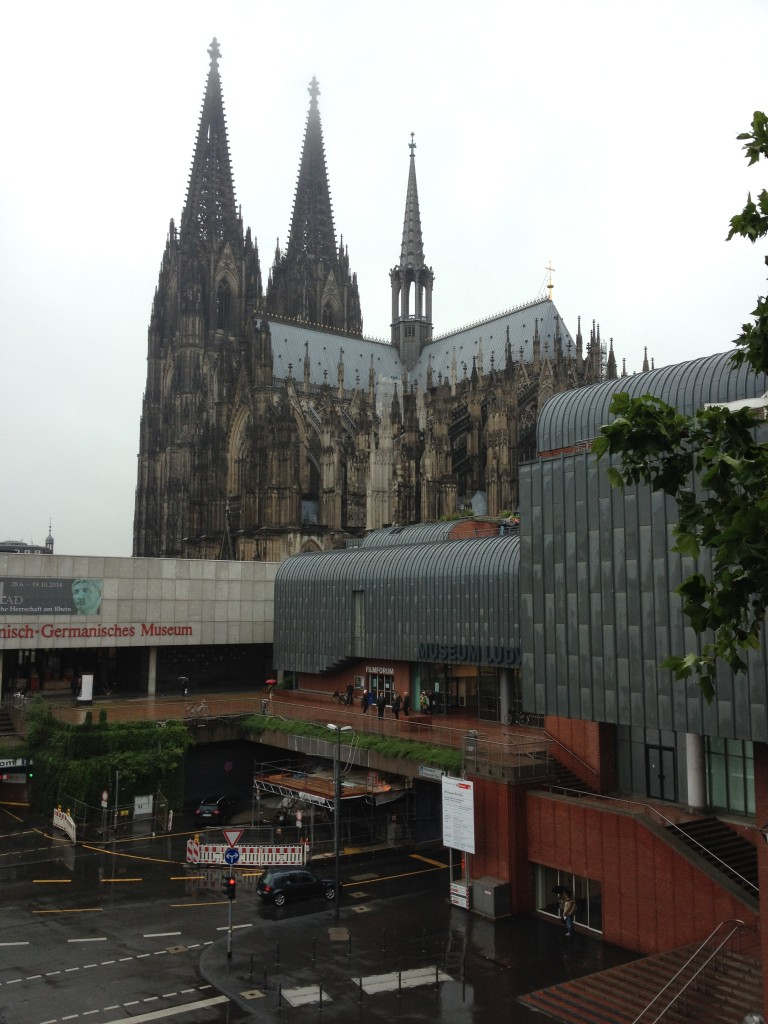 View from my hotel room in Cologne
