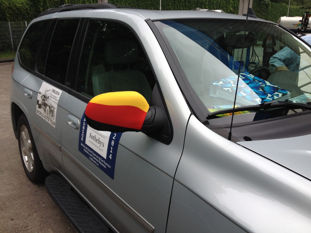 German colors on the Envoy