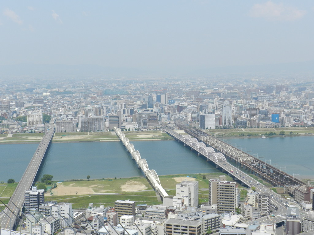 View from Umeda Sky Building Observation Deck