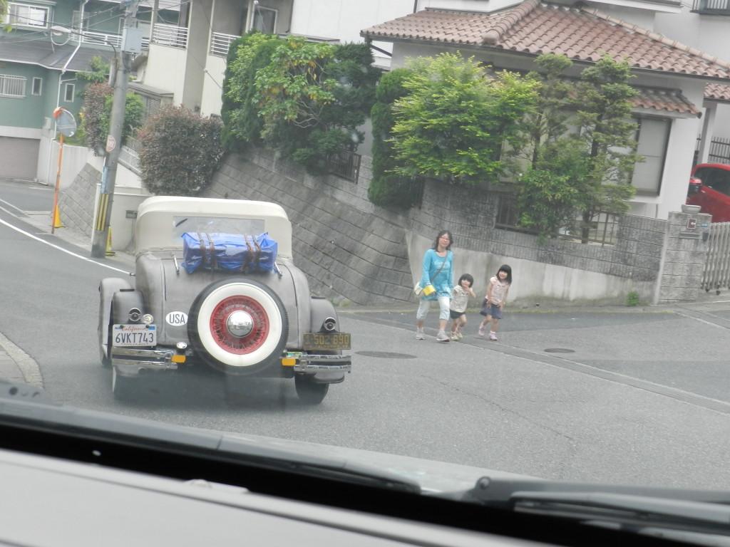Back streets of Otsu