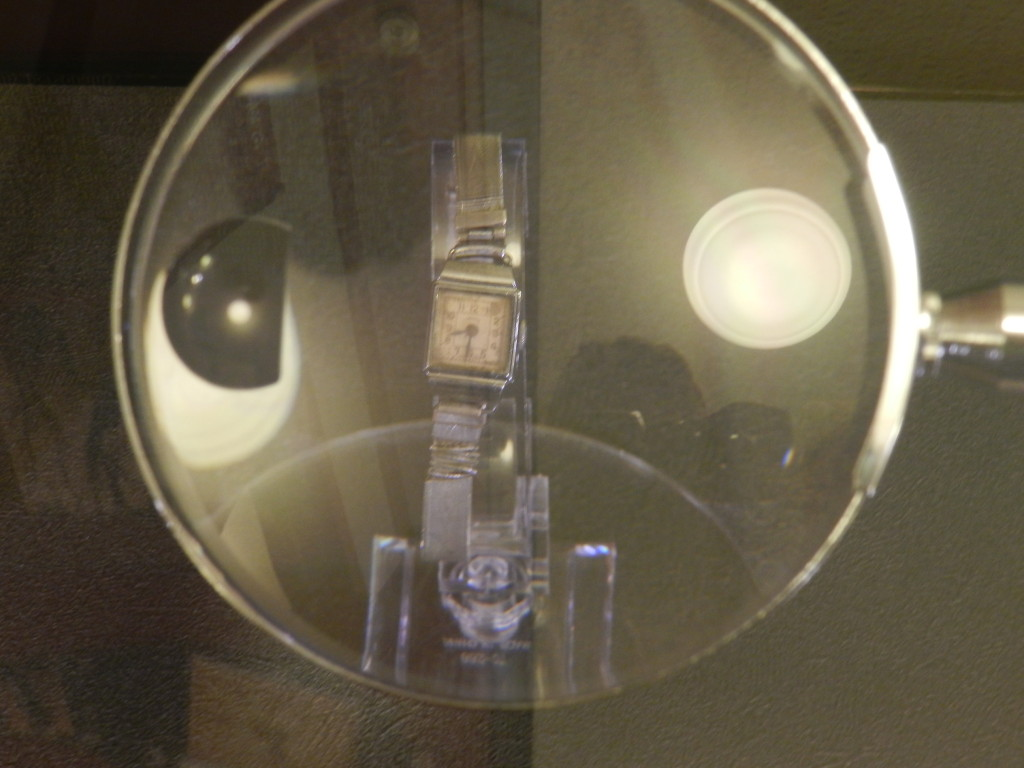 The watch in the Port of Humanity Tsuruga Museum