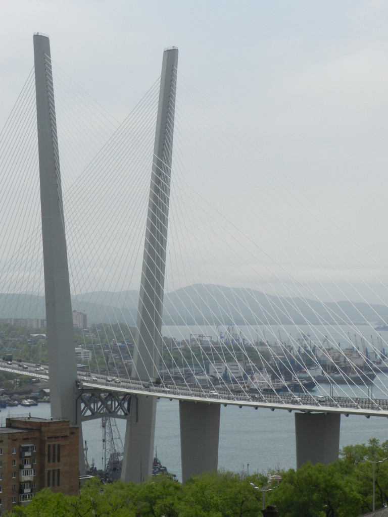 View of the Golden Horn Bridge from the Funicular