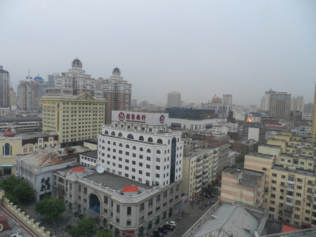 View from the hotel room in Harbin