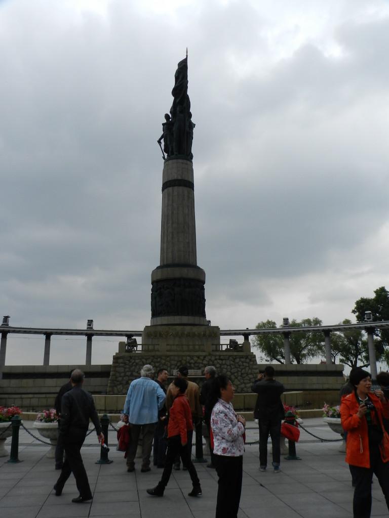 Flood memorial in Harbin
