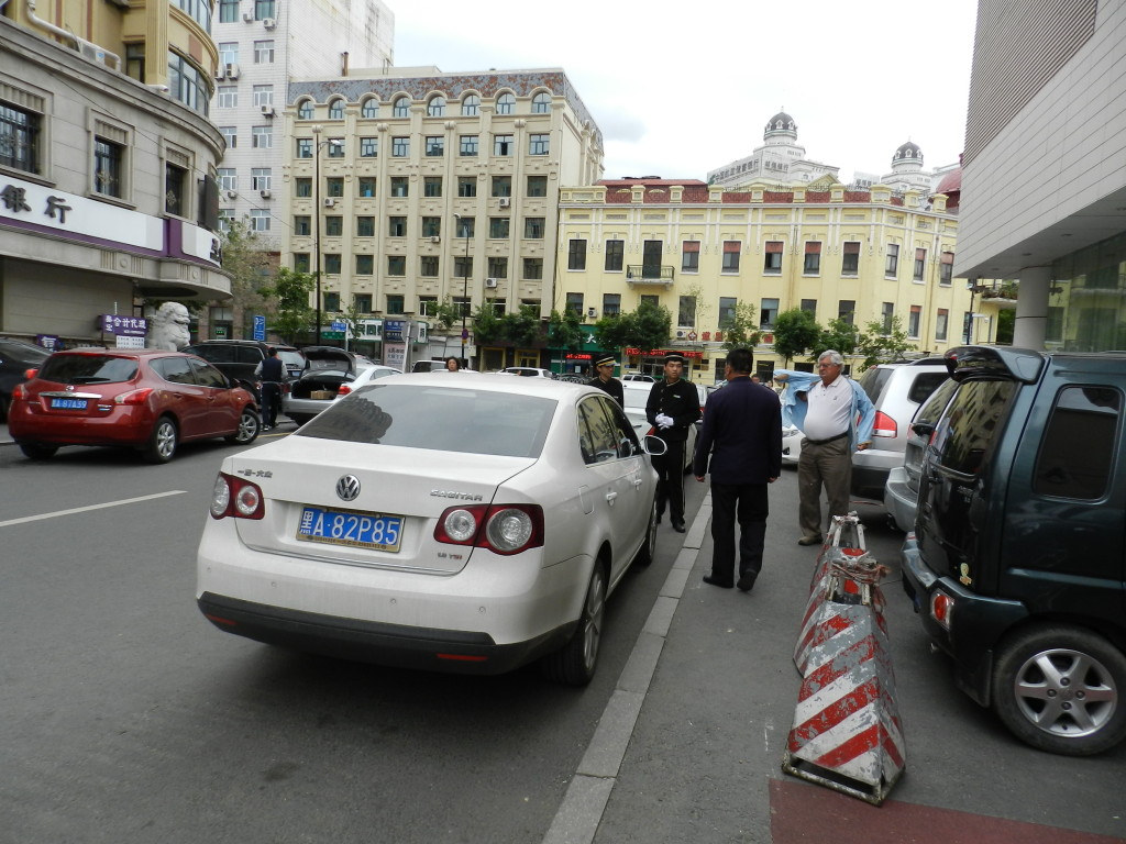 Parking woes in Harbin