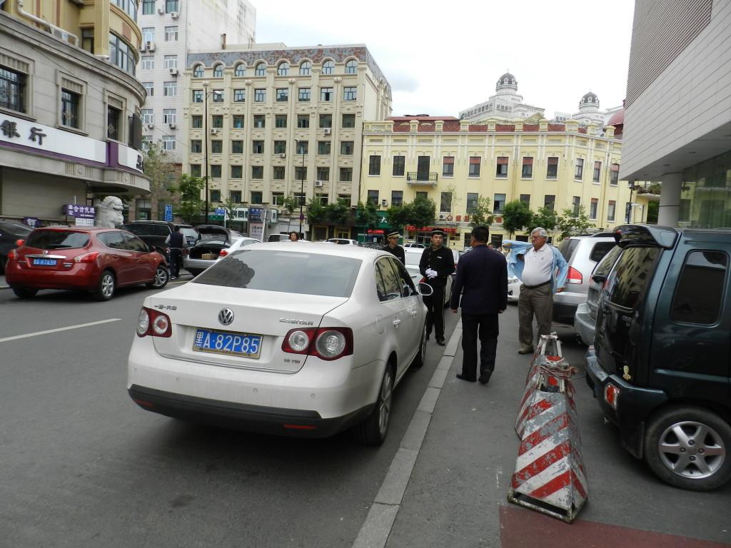 Parking woes in Harbin