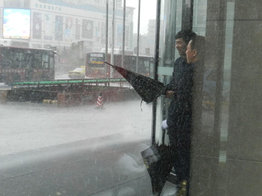 Downpour in Qiqihar