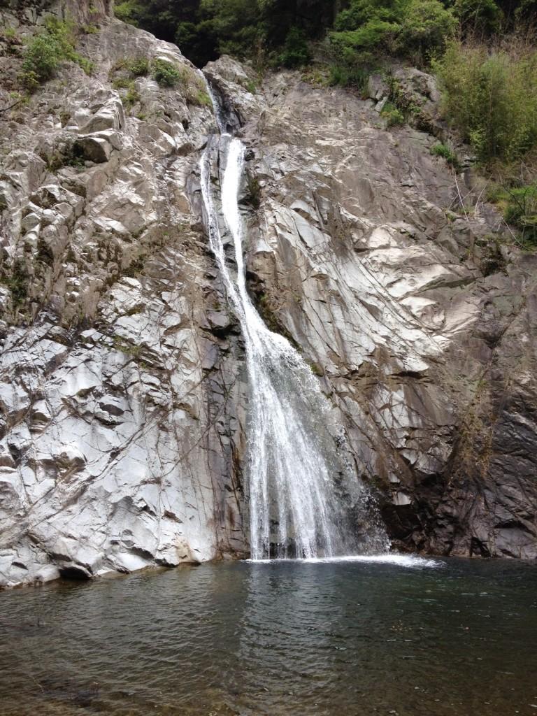 Nunobiki Falls in Kobe
