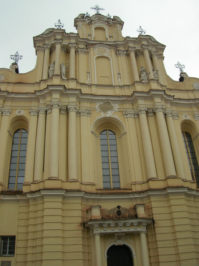 Catholic church at Vilnius University