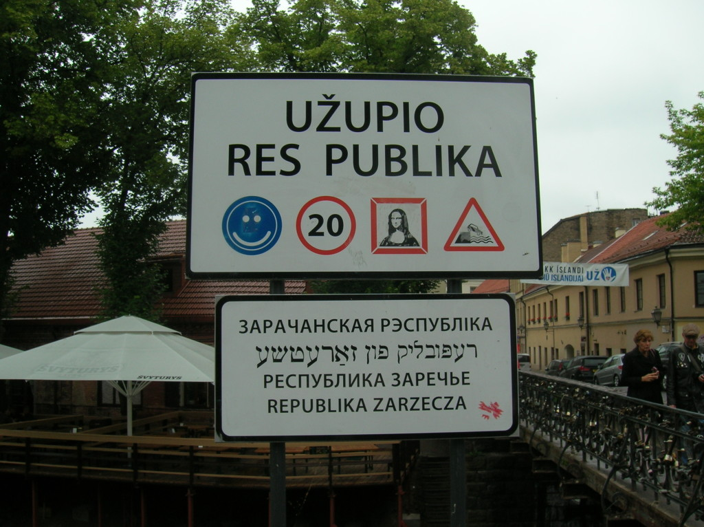 Welcome to the Republic of Uzupis