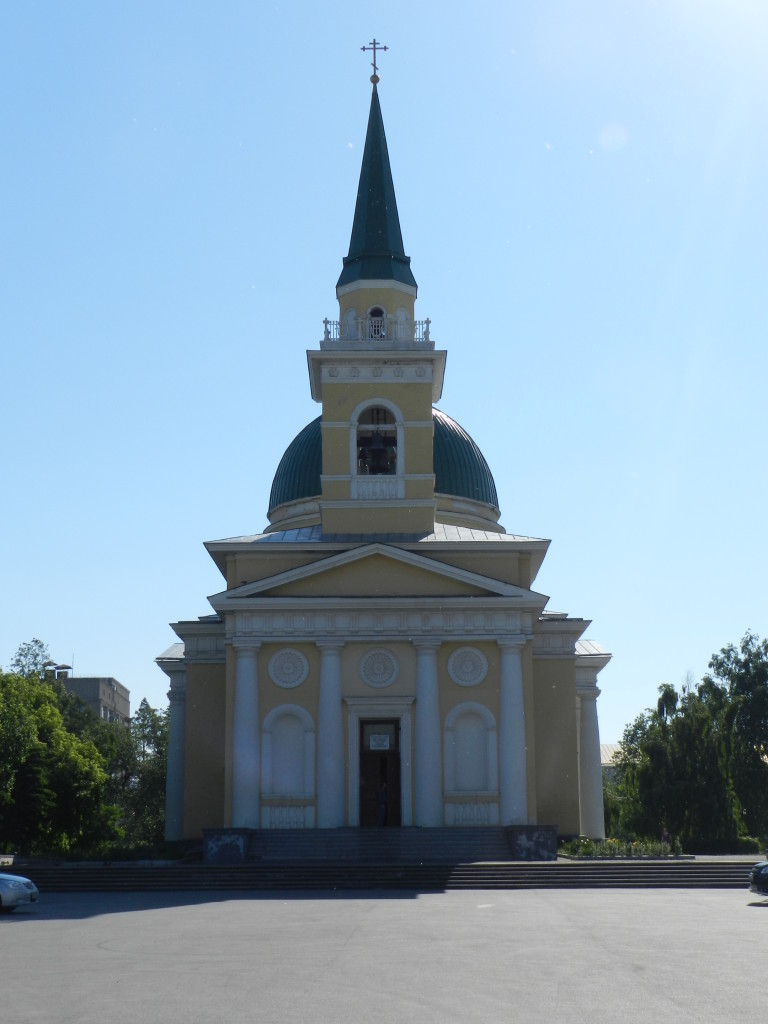 Oldest cathedral in Omsk