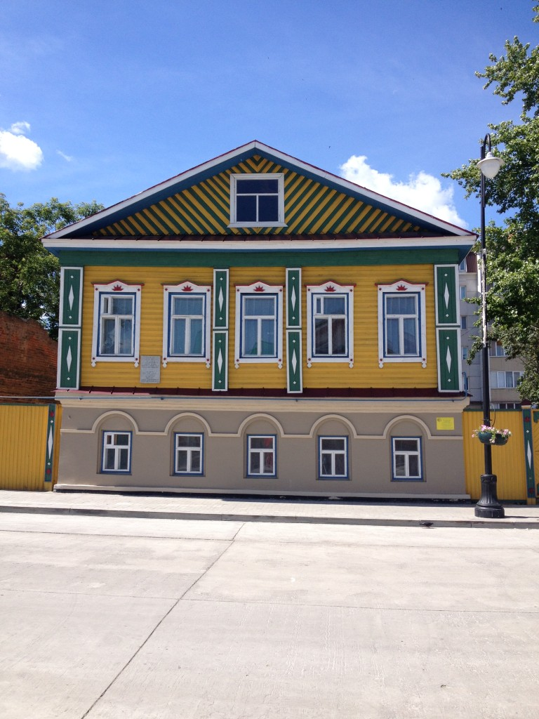 Traditional Tatar architecture