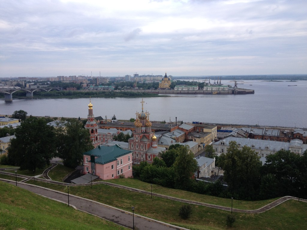 Views of Nizhny Novgorod
