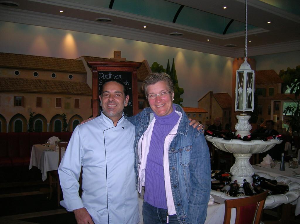 Mille Mignia Restaurant with Barbara von Graeve and her Italian chef