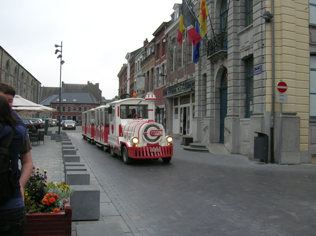 The tram for our tour