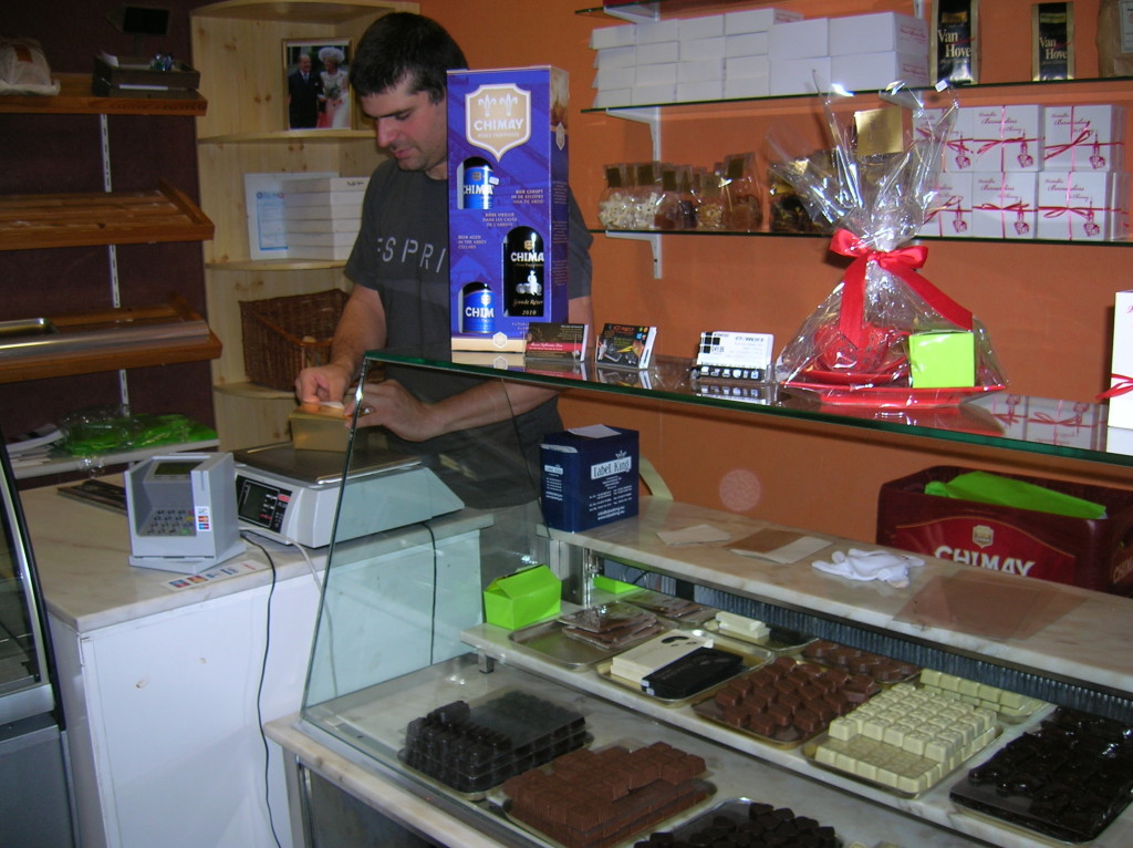 Buying a stash of Belgian chocolates -- you can't go wrong with these!