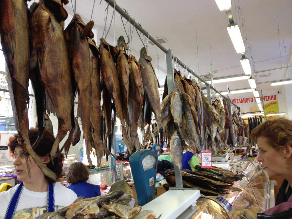 Getting smoked fish for lunch at the border tomorrow