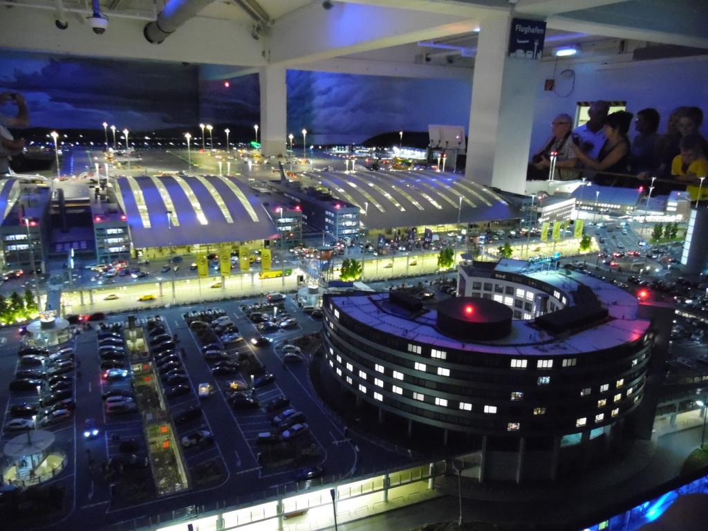 Night Time Airport Scene
