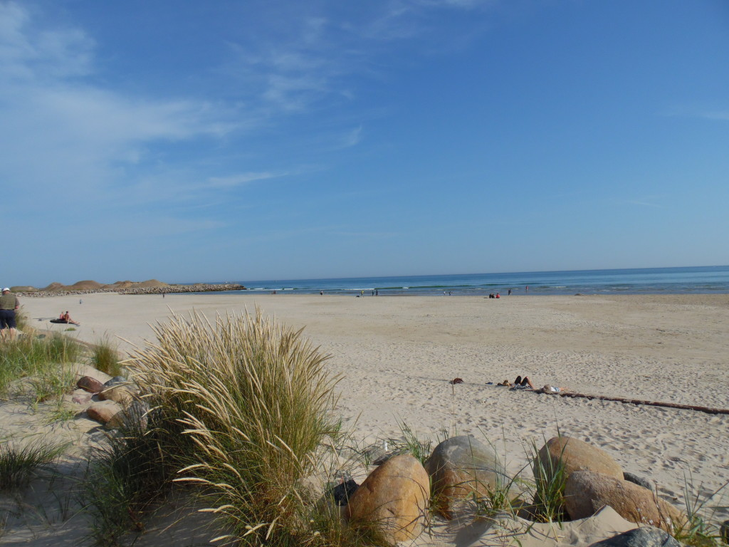 The Beach At Hirtshals, DK....nice warm day before loading Roadster