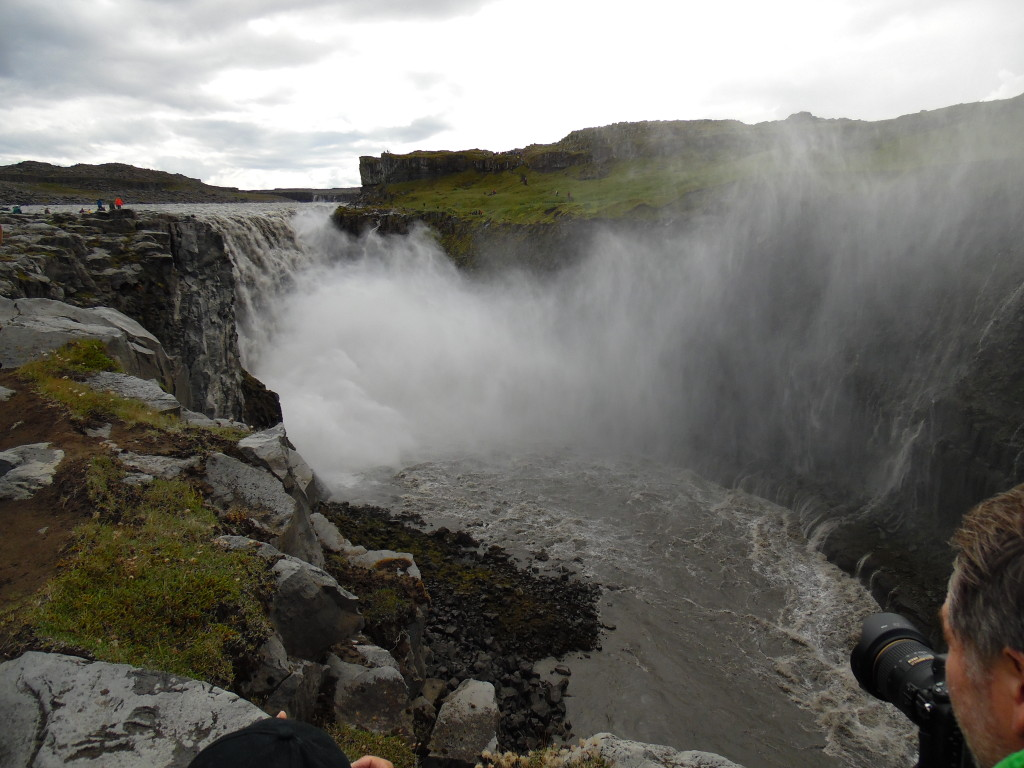 Dettifoss...the most powerful waterfall in Europe, located in Iceland