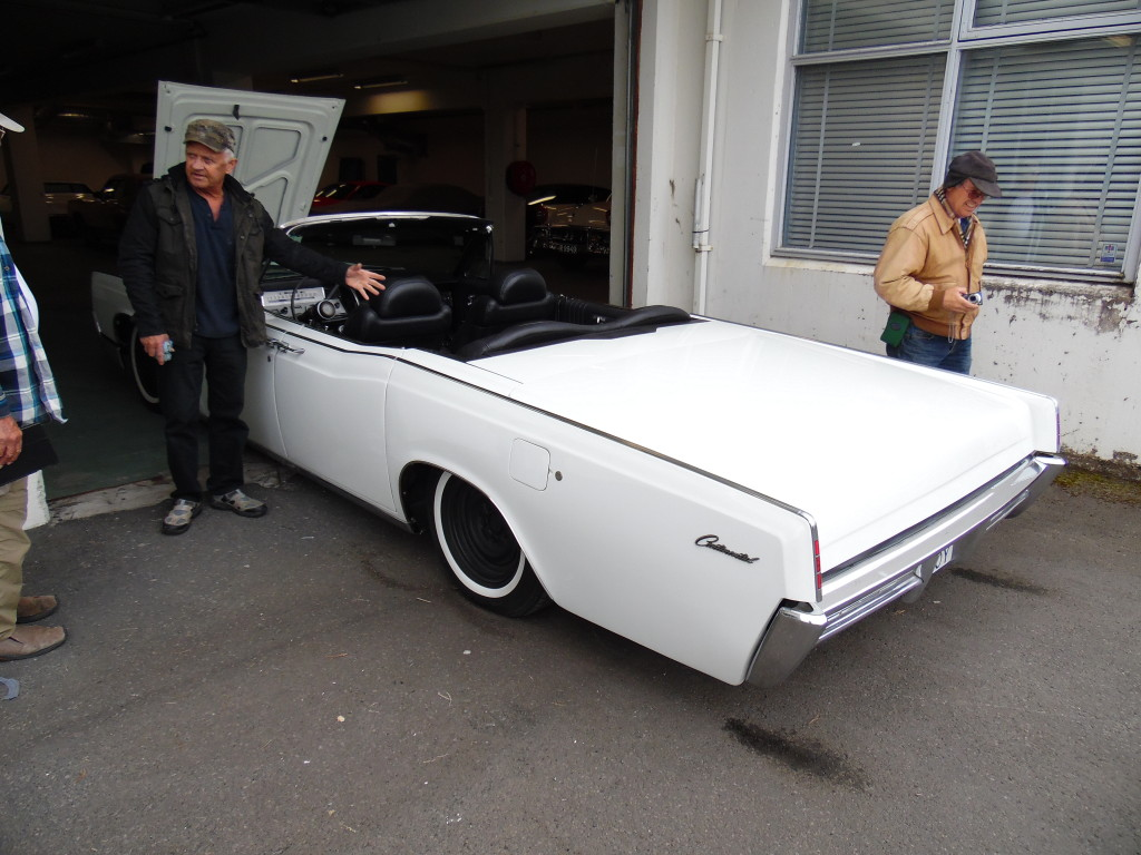 A drop dead killer 1967 Lincoln suicide door convertible