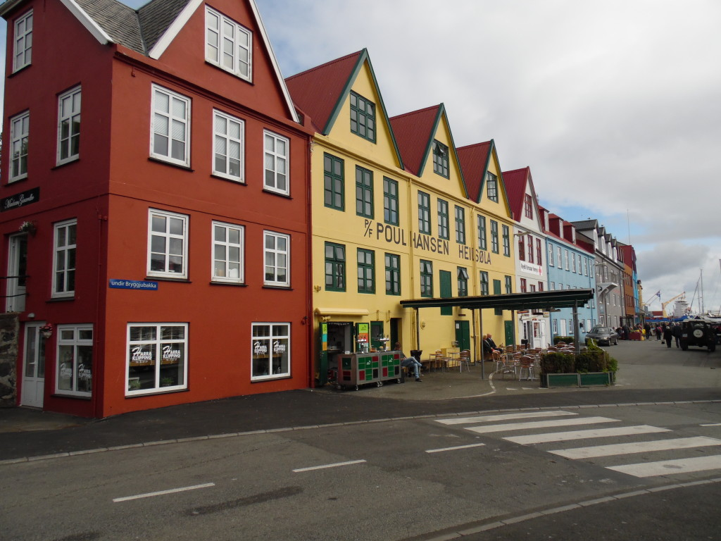 Near the ship port and marina in Torshavn....the capitol city
