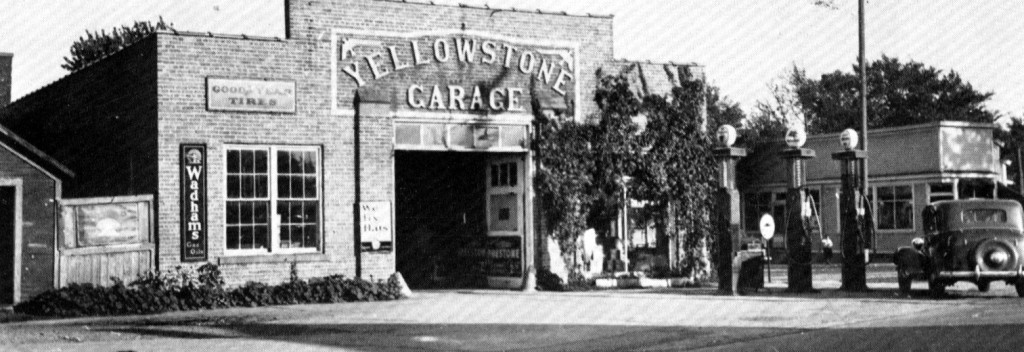 1930's Yellowstone Garage in Fond Du Lac, WI