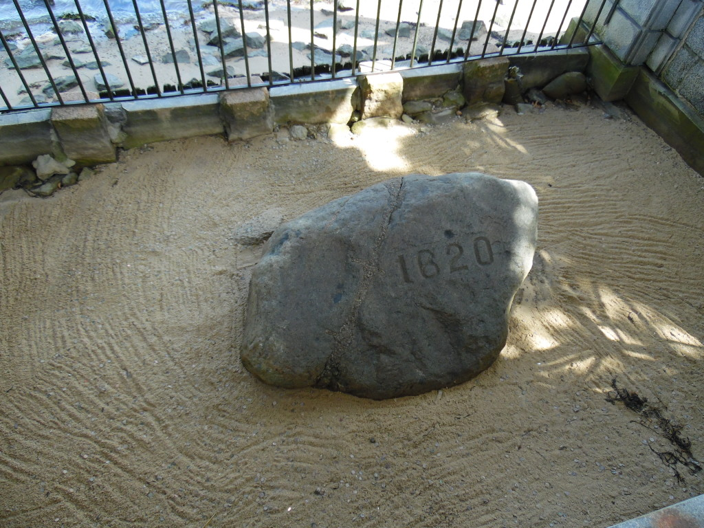 Plymouth Rock....the start of the YT and Leg #3 of our World Tour